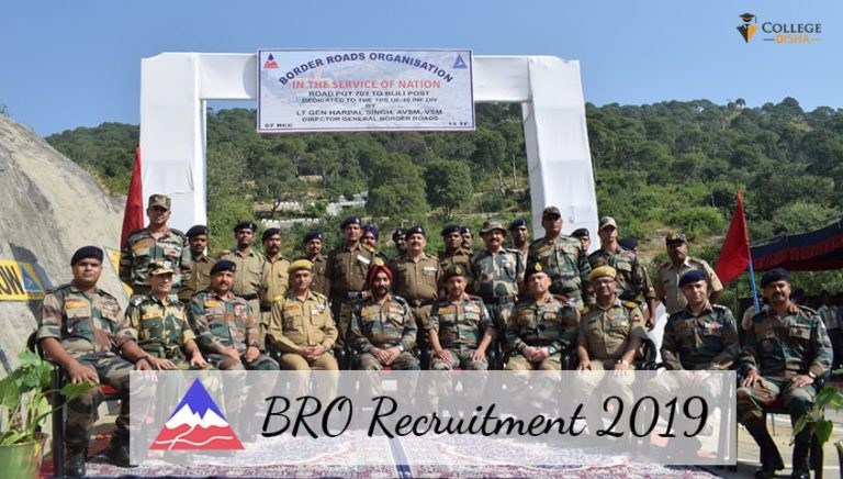 BRO Recruitment 2019 – 540 posts of Multi Skilled Worker