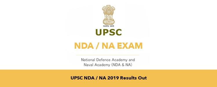 Check Your Result UPSC NDA-II 2019